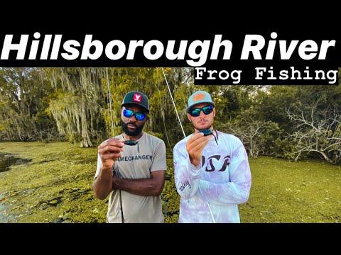 Florida Frog Fishing | Hillsborough River