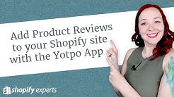 Add Product Reviews to your Shopify site with the Yotpo App