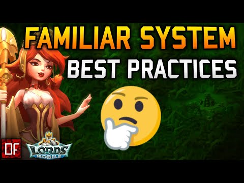 Lords Mobile Familiar Tips On Skillstones And Much More!