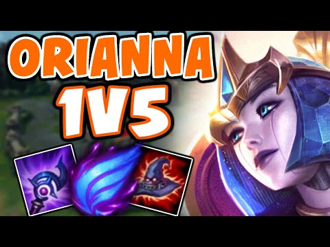 This is how I 1v5 with ORIANNA in CHALLENGER | Orianna Comeback - League of Legends