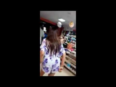 BIG FIGHT IN THE STORE