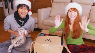 Opening our Christmas presents! (For our family~)