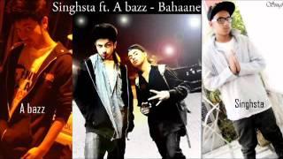 Zara Tasveer Se By A bazz _ Bahane ( ft. Singhsta )
