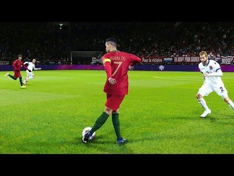 Download PES 2020🐐Cristiano Ronaldo Coolest Goals & Skills