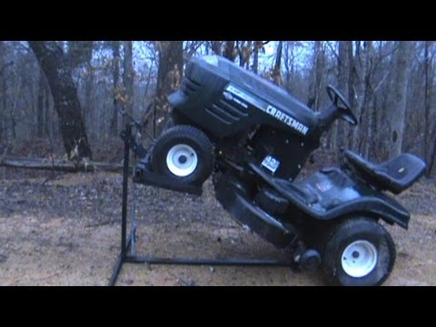Making a Mower Lift