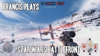 Francis Plays Star Wars Battlefront Beta (HIGHLIGHTS!)
