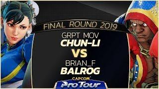 Download Video GRPT MOV (Chun-Li) vs Brian_F (Balrog) -  Final Round 2019 - Top 48 - CPT 2019 MP3 3GP MP4
