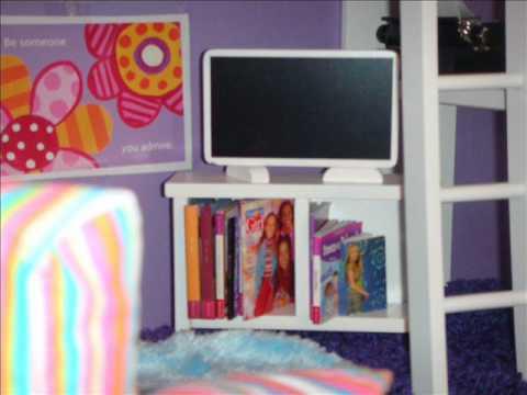 american girl doll bedroom videos 2