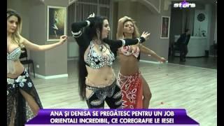 Sharyn Bellydance - curs dans oriental cu Ana Mocanu si Denisa Bita