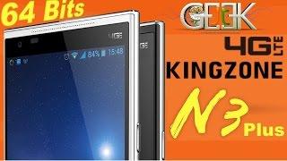 Kingzone N3 Plus MT6732 64 Bits test video par GLG