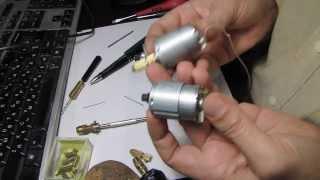Обзор цанговых патрончиков и моторчик для сверлилки