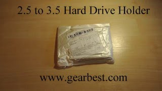 2.5 to 3.5 inch Hard Drive Holder