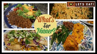 What's For Dinner?   Lots of Dinner Ideas to Cook at Home!
