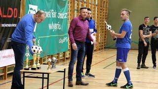 Wrêczenie nagród w ALDO Cup 2017