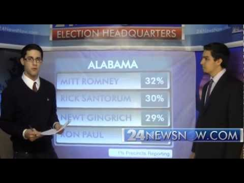 Alabama and Mississippi Early Republican Primary results