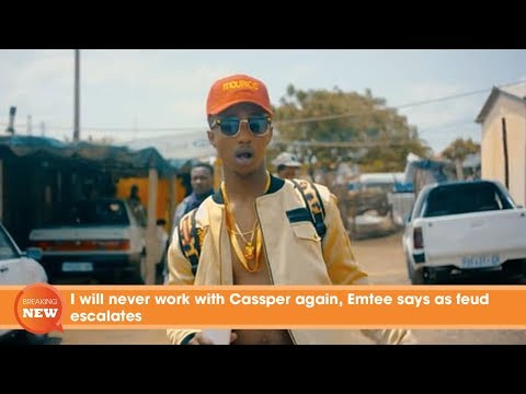 I will never work with Cassper again, Emtee says as feud escalates