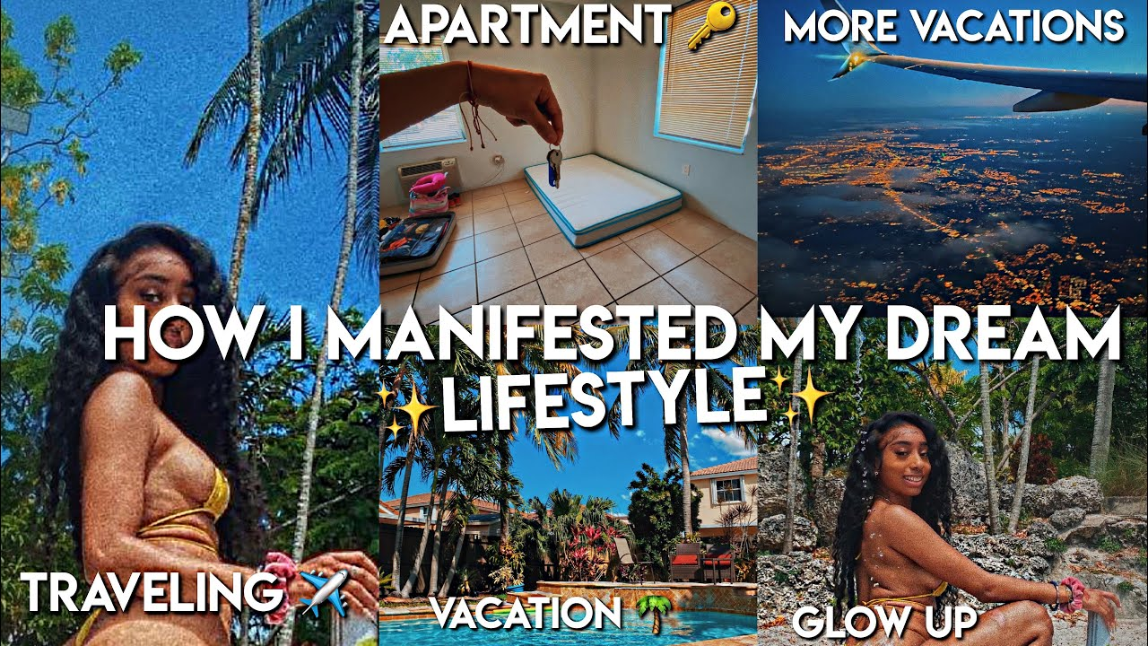 How I Manifested My Dream Lifestyle In Less Than A Year | Moving Out,Traveling,Glowing Up & MORE !