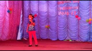 Tanaya singing Malayalam karaoke mandhara cheppundo