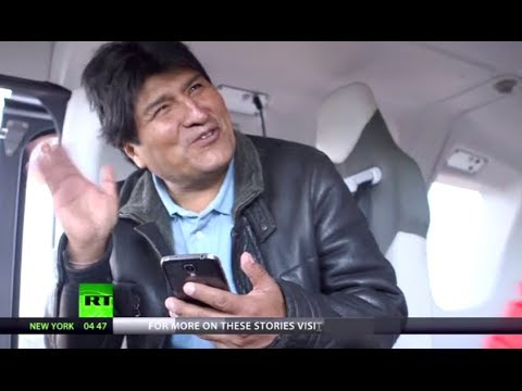 One Day with President: 24 hrs with Bolivia's Evo Morales (R