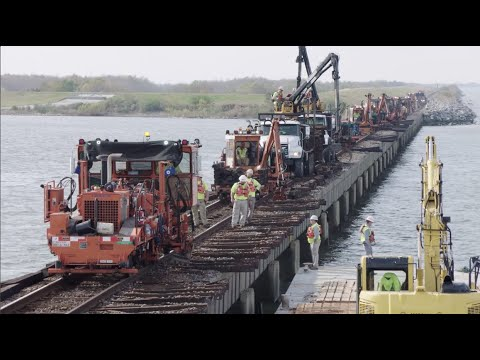Lake Pontchartrain Crosstie Replacement Project