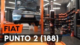 Cómo cambiar los puntal amortiguador delantero en FIAT PUNTO 2 (188) [VÍDEO TUTORIAL DE AUTODOC]