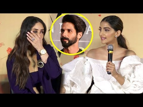 Kareena Kapoor SHOCKING Reaction When Sonam Kapoor Takes Shahid Kapoor Name