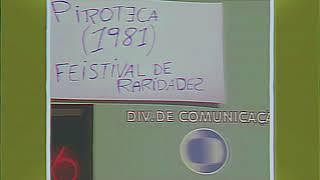 Claquete - Piroteca Clonal/REDE CLONE - 1981