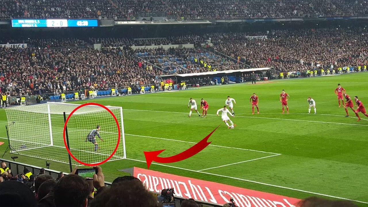 Gol de James Rodriguez desde la grada | Real Madrid VS ...