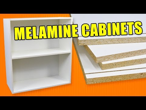 Gentil Economy Cabinet Making With Melamine: How To Build Cabinets ...