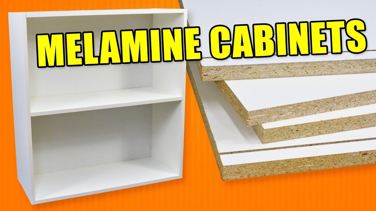 Economy Cabinet Making With Melamine How To Build Cabinets Youtube