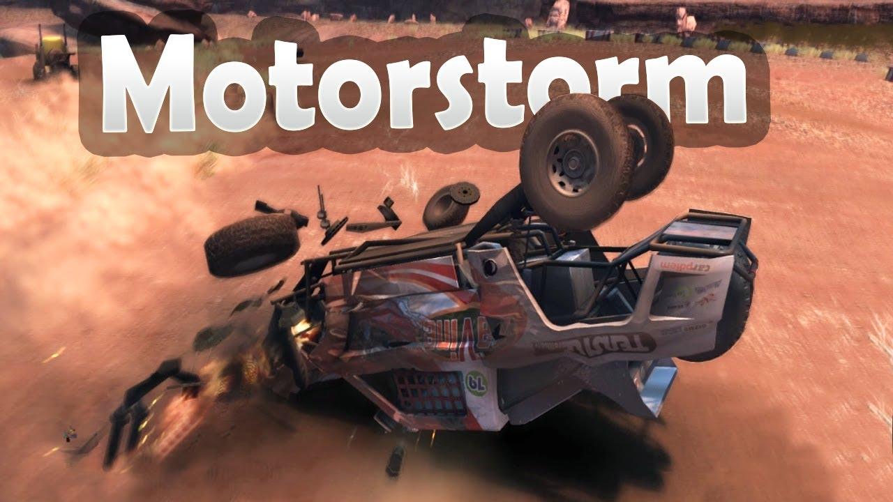 I love this game / Motorstorm (rpcs3 gameplay)