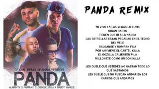 Panda Remix Almighty ft Farruko Daddy Yankee y Cosculluela Video Con Letra