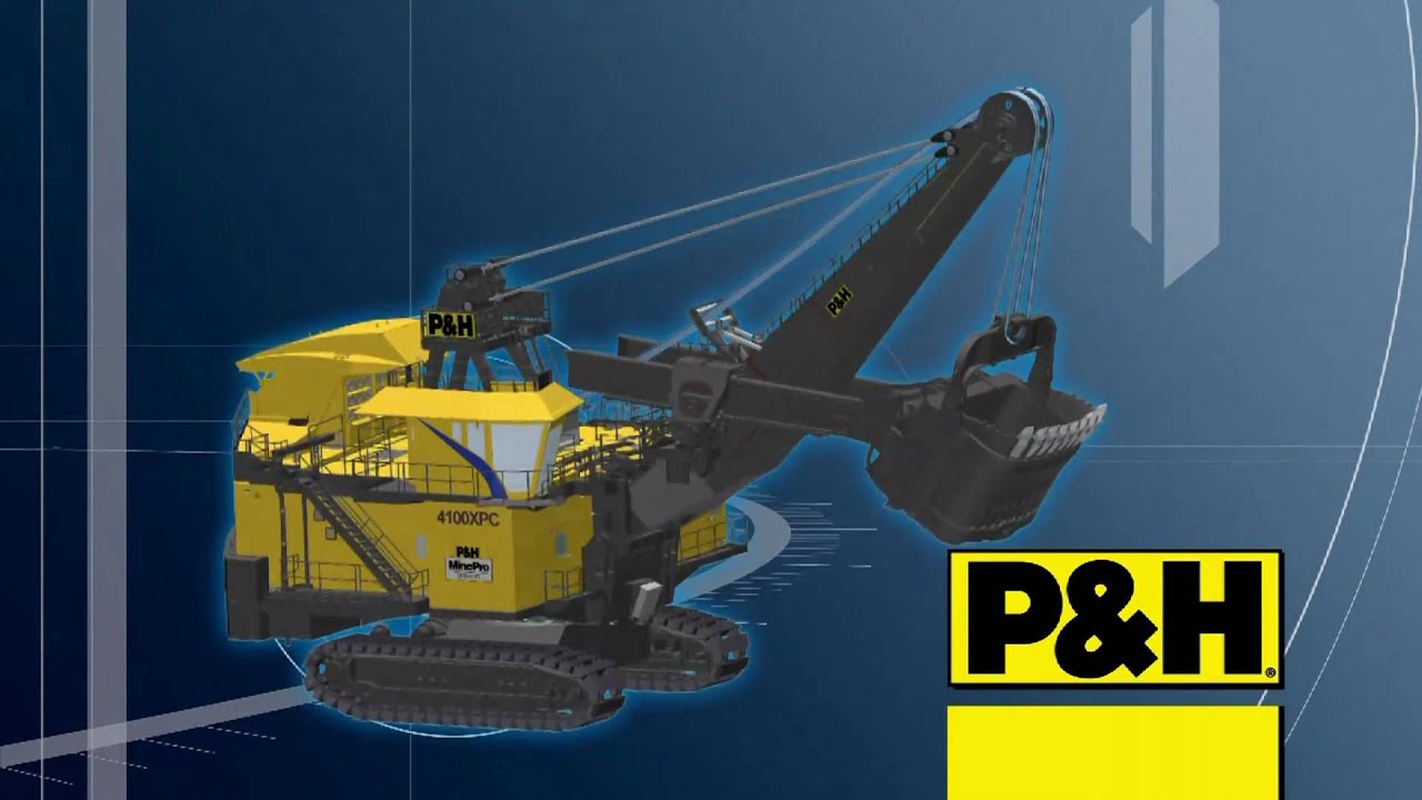 P&H Mining Equipment 4100XPC AC Mechanical Systems - YouTube
