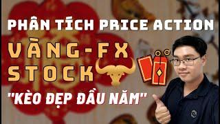 ✅Phân Tích VÀNG-FOREX-STOCK Theo Price Action - Kèo Đẹp Đầu Năm - 14/2