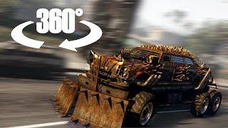 🕶 Apocalypse Bruiser vs Cars in VR   GTA V 360° Video thumbnail