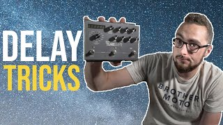 5 Delay Tricks You Should Know! || Strymon Timeline
