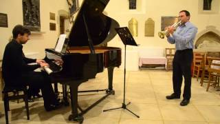 A Modest Suite, for bass trumpet and piano, by Gordon Carr