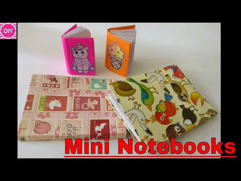 How to make a Mini Notebook and Mini Diary | DIY Paper Notebook | Easy and Cute