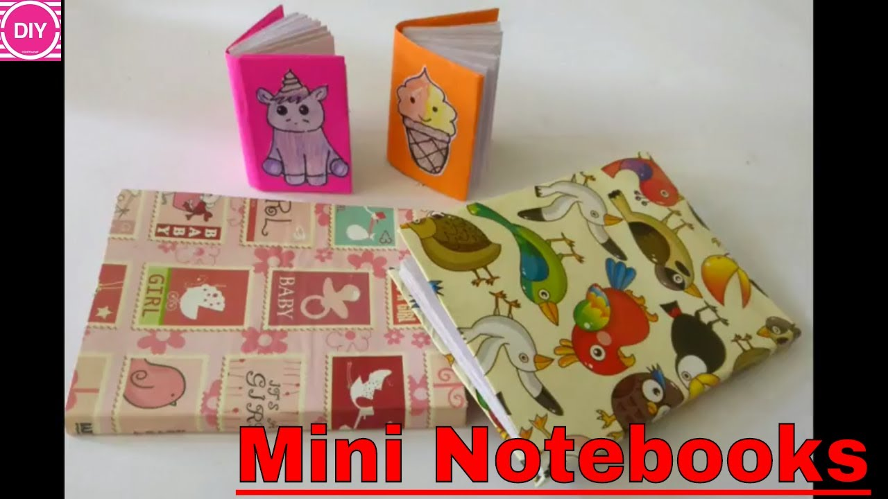 How To Make A Mini Notebook And Mini Diary Diy Paper Notebook