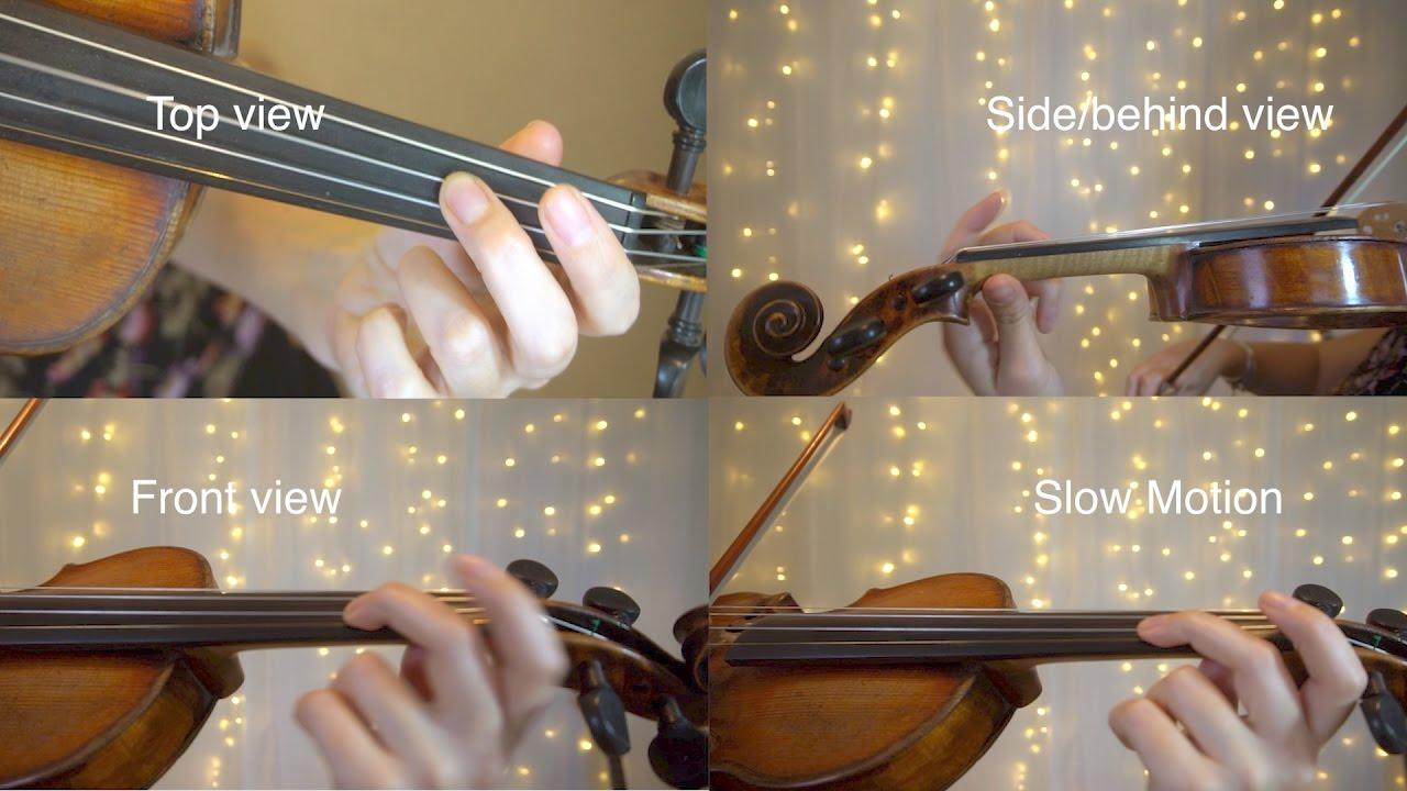 how to do a vibrato on violin