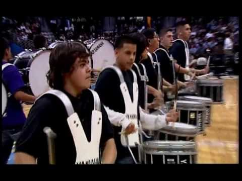 North High School Vikings Drumline Nuggets Half Time Show