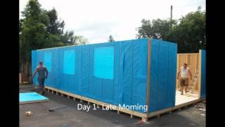 Armitages Garden Centre Timber Frame Extension