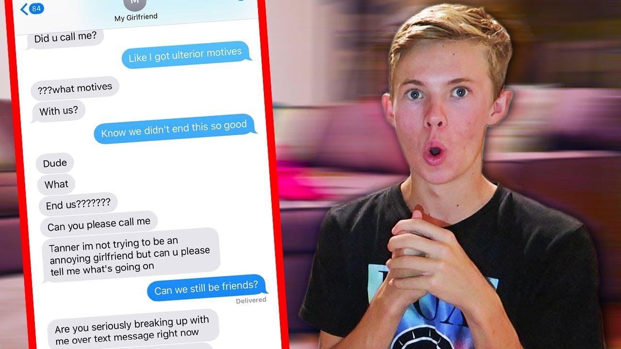 Song Lyric Prank On My Girlfriend Break Up Youtube