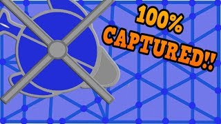 DEFLY.IO - CIRCLING THE WHOLE MAP!! // How To Capture 100% (150k+ High Score)