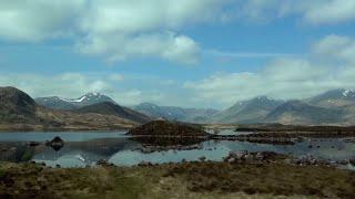 Touring Scotland, the Highlands & Lochs, in a Campervan - Pt1