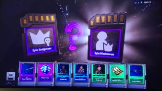 Fortnite my first legendary hero(opening 13 piñata packs)