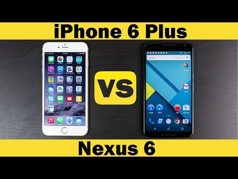 Nexus 6 vs iPhone 6 Plus Full In-Depth Comparison ...