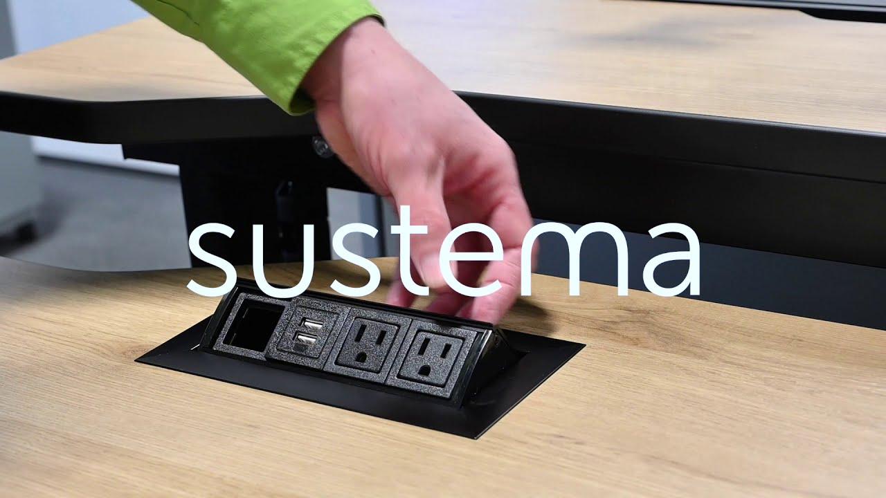 Console Focus C-200: Mobilier pour Salle de Contrôle - Sustema