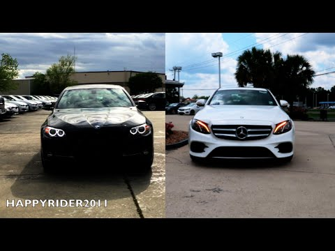 2017 Mercedes E Class Vs BMW 5 Series  ULTIMATE REVIEW