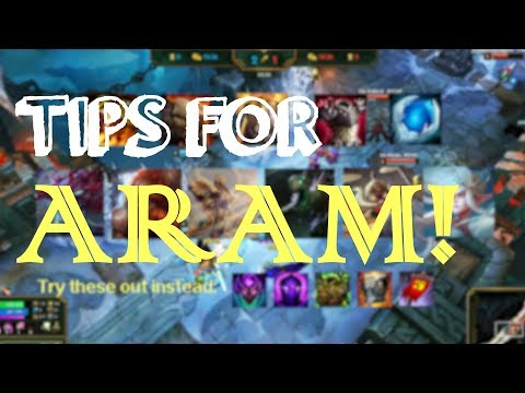 5 Tricks to Win more in ARAM (2018) - League of Legends